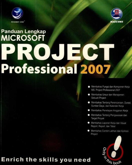 COVER MICROSOFT PROJECT - RAHMAT RISKI
